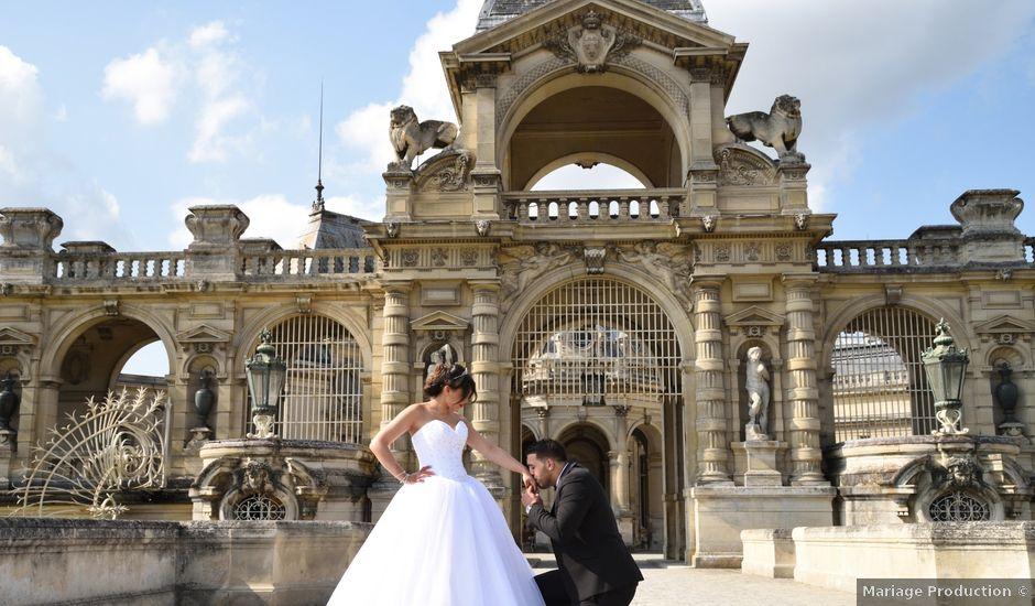 Le mariage de Walid et Baya à Paris, Paris