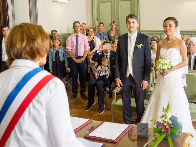 Le mariage de Jean-Pierre et Mio à Vannes, Morbihan 15