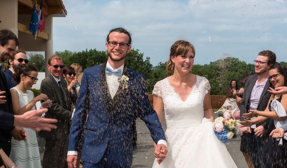Le mariage de Maxime et Justine à Damiatte, Tarn