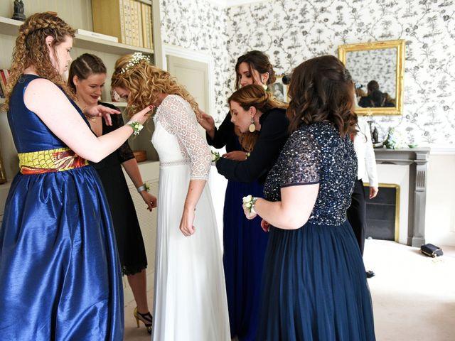Le mariage de Nicolas et Léna à Saint-Donan, Côtes d'Armor 8