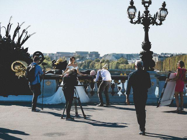 Le mariage de Gabriel et Jessica à Paris, Paris 17