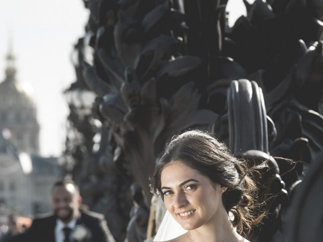 Le mariage de Gabriel et Jessica à Paris, Paris 18