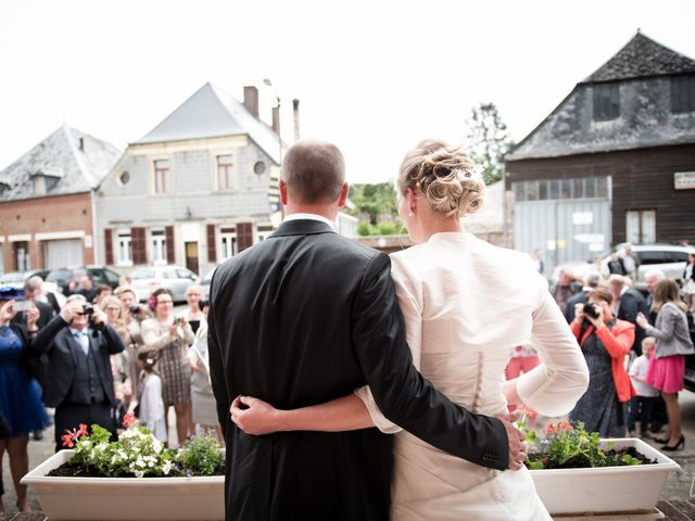 Le mariage de Yoann et Aline à Marly-Gomont, Aisne 50