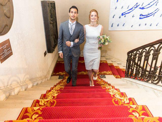 Le mariage de Mourad et Hannah à Paris, Paris 17