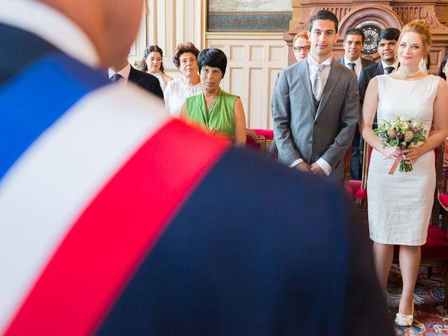 Le mariage de Mourad et Hannah à Paris, Paris 18