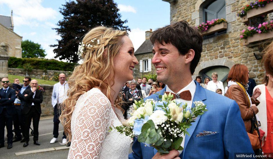 Le mariage de Nicolas et Léna à Saint-Donan, Côtes d'Armor