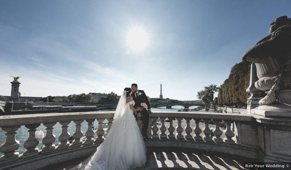 Le mariage de Gabriel et Jessica à Paris, Paris