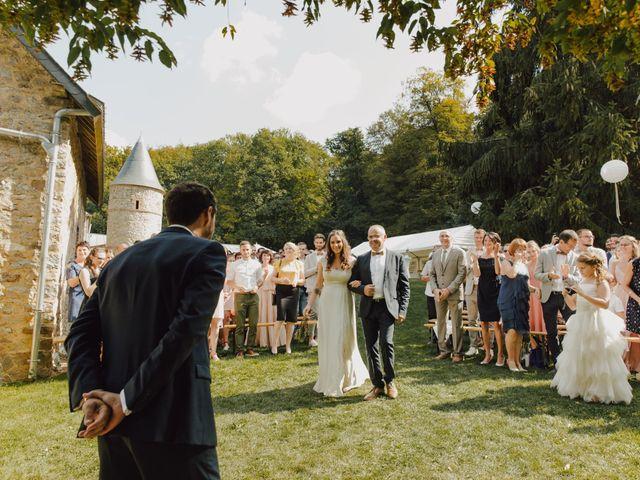 Le mariage de Ludovic et Mylene à Entrammes, Mayenne 94