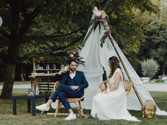 Le mariage de Ludovic et Mylene à Entrammes, Mayenne 104