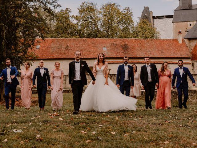 Le mariage de William et Celine à Bannegon, Cher 31