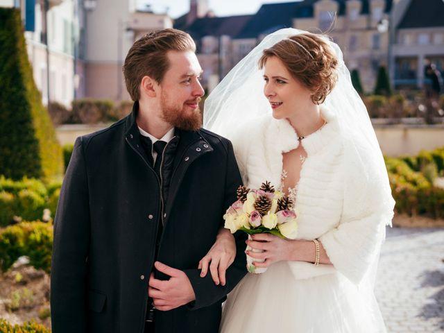 Le mariage de Julien et Audray à Vauréal, Val-d'Oise 1