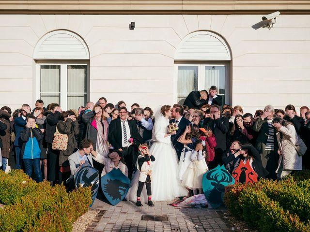 Le mariage de Julien et Audray à Vauréal, Val-d'Oise 6