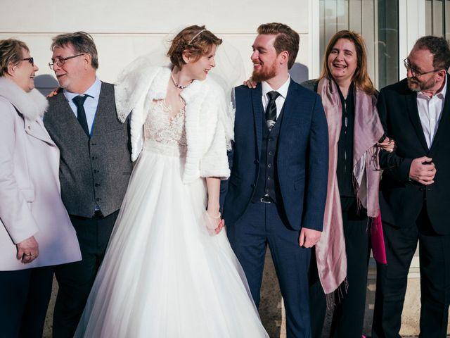 Le mariage de Julien et Audray à Vauréal, Val-d'Oise 7