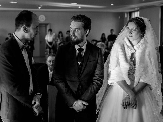 Le mariage de Julien et Audray à Vauréal, Val-d'Oise 15