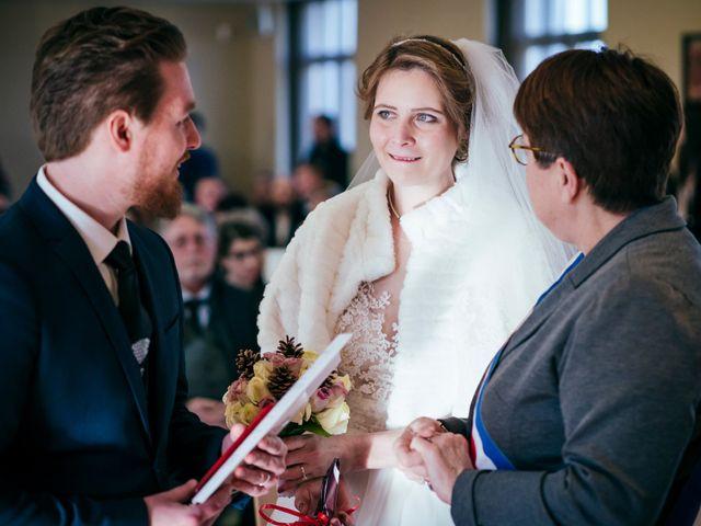 Le mariage de Julien et Audray à Vauréal, Val-d'Oise 37
