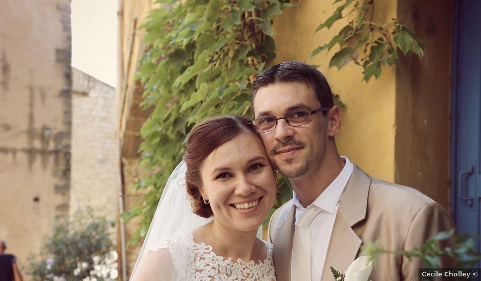 Le mariage de Pierre et Génia à Grimaud, Var