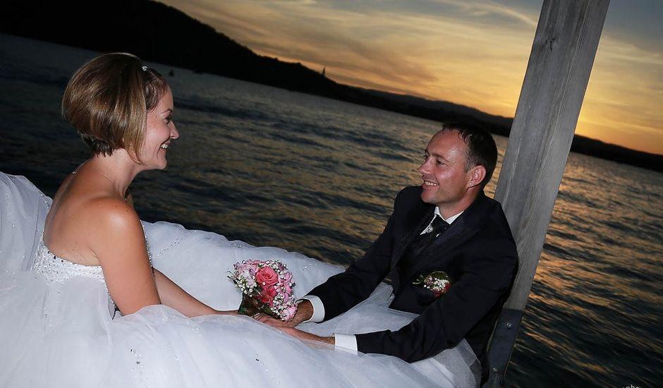 Le mariage de Renaud et Aurore à Veyrier-du-Lac, Haute-Savoie
