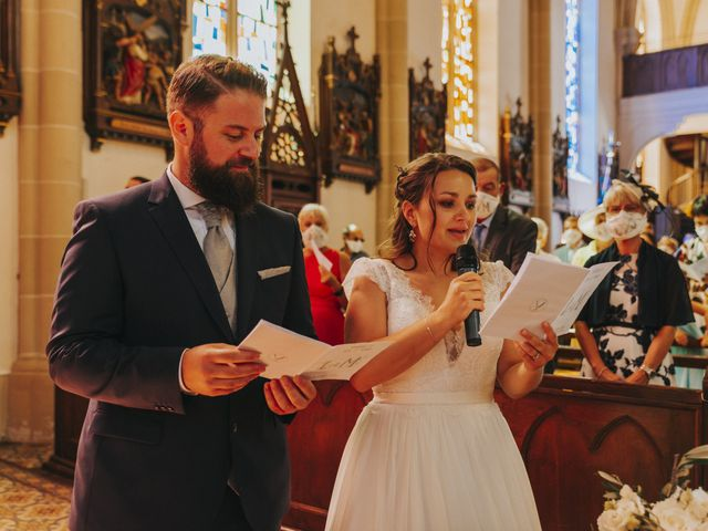 Le mariage de Loïc et Marie à Oberlarg, Haut Rhin 25