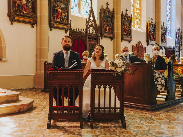 Le mariage de Loïc et Marie à Oberlarg, Haut Rhin 28