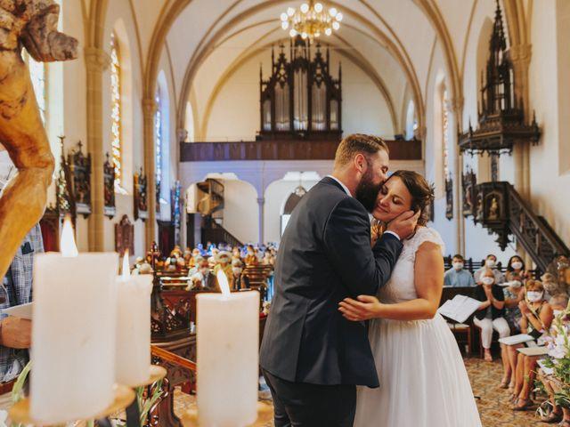 Le mariage de Loïc et Marie à Oberlarg, Haut Rhin 32