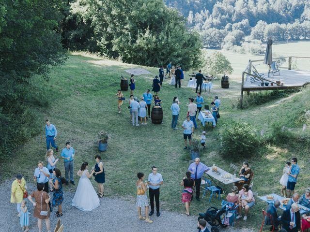 Le mariage de Loïc et Marie à Oberlarg, Haut Rhin 41
