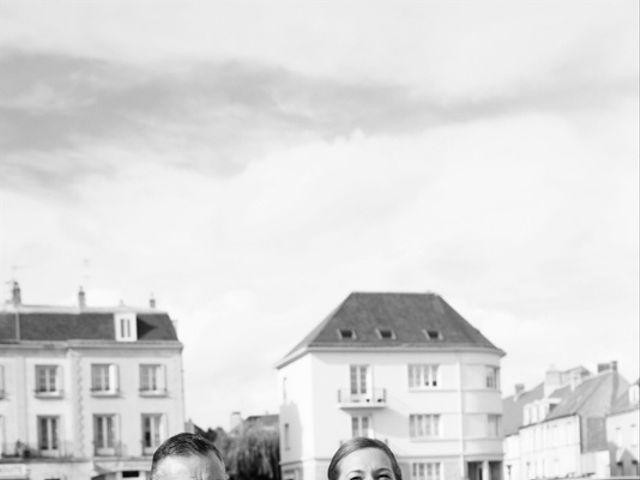Le mariage de Vincent et Angelina à Argentan, Orne 17