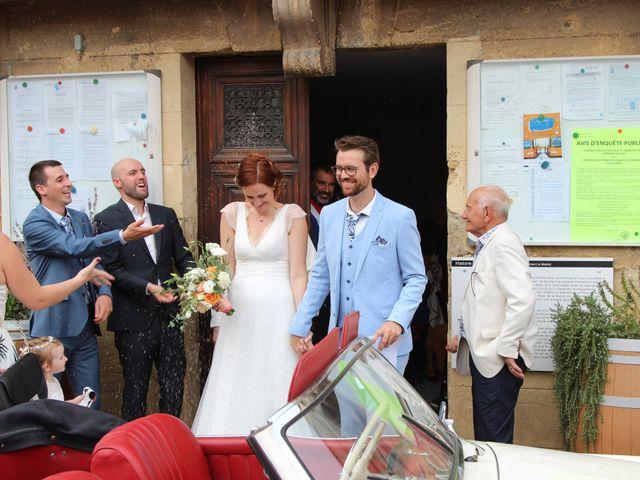 Le mariage de Emmy et Camille à Lirac, Gard 8