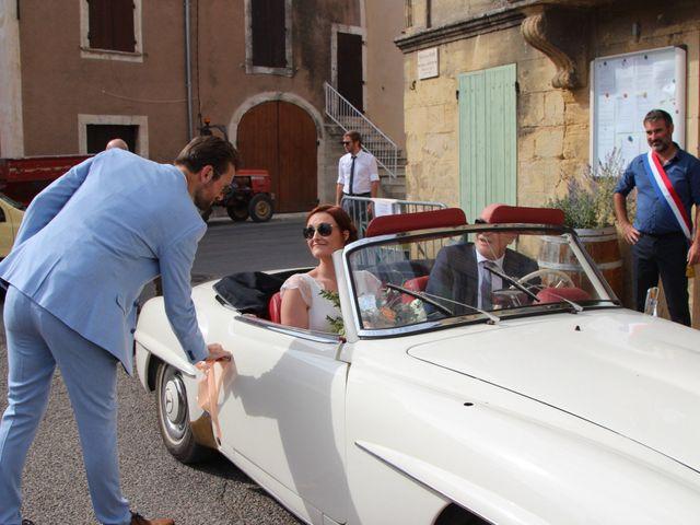 Le mariage de Emmy et Camille à Lirac, Gard 9