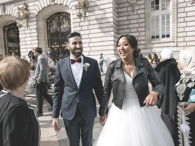 Le mariage de Yacine et Samira à Levallois-Perret, Hauts-de-Seine 3