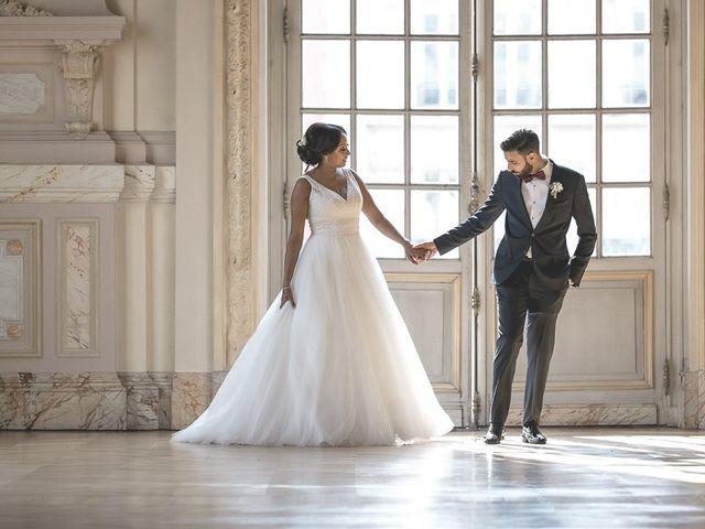 Le mariage de Yacine et Samira à Levallois-Perret, Hauts-de-Seine 8