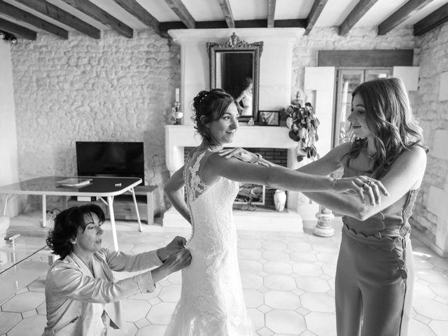 Le mariage de Cyril et Marine à Fontaines-d'Ozillac, Charente Maritime 6