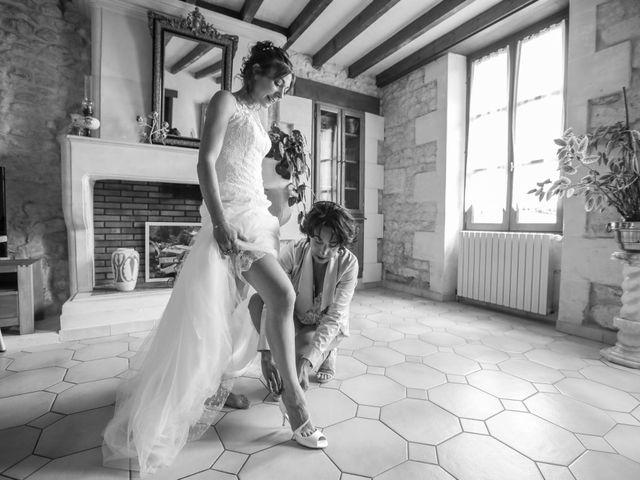 Le mariage de Cyril et Marine à Fontaines-d'Ozillac, Charente Maritime 8