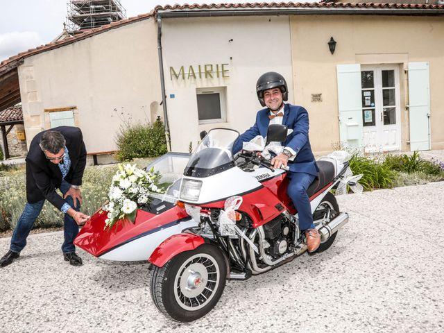 Le mariage de Cyril et Marine à Fontaines-d'Ozillac, Charente Maritime 12