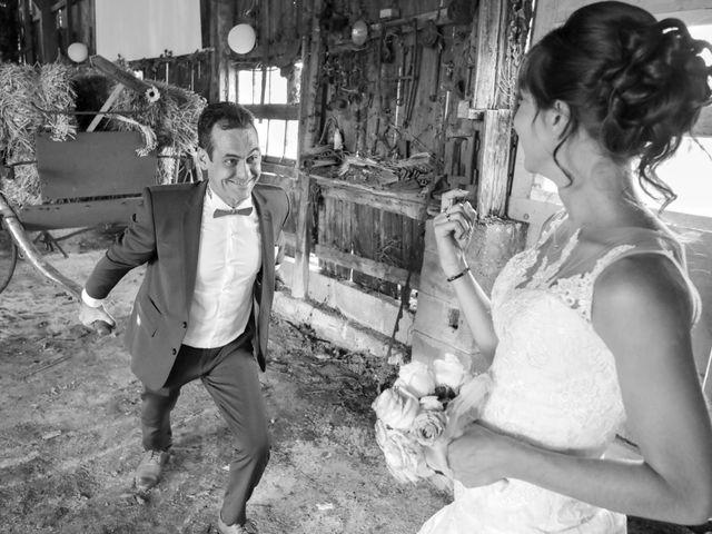 Le mariage de Cyril et Marine à Fontaines-d'Ozillac, Charente Maritime 33