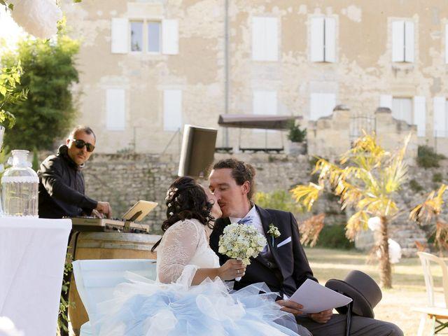 Le mariage de Nicolas et Gaëlle à Tresses, Gironde 35