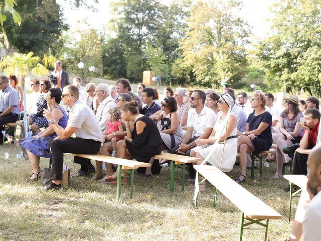 Le mariage de Nicolas et Gaëlle à Tresses, Gironde 46