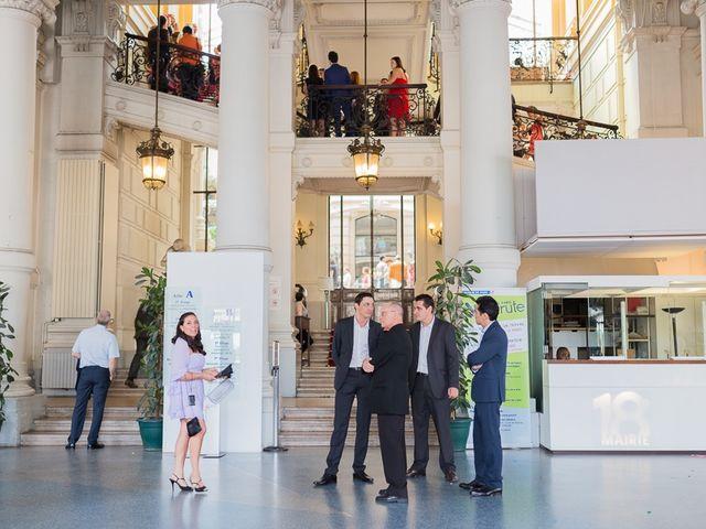 Le mariage de Guillaume et Stephanie à Paris, Paris 5