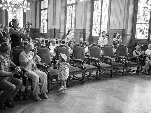Le mariage de Guillaume et Stephanie à Paris, Paris 14