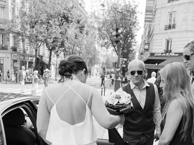 Le mariage de Guillaume et Stephanie à Paris, Paris 17