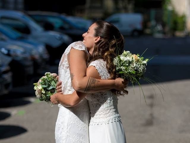 Le mariage de Maria Julia et Gaëlle à Annecy, Haute-Savoie 8