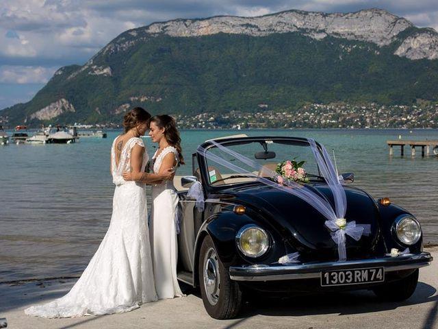 Le mariage de Maria Julia et Gaëlle à Annecy, Haute-Savoie 22