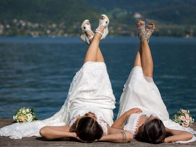 Le mariage de Maria Julia et Gaëlle à Annecy, Haute-Savoie 24