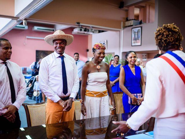Le mariage de Harry et Cécilia à Ducos (Martinique), Martinique 3
