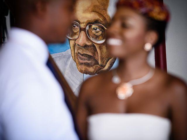 Le mariage de Harry et Cécilia à Ducos (Martinique), Martinique 9