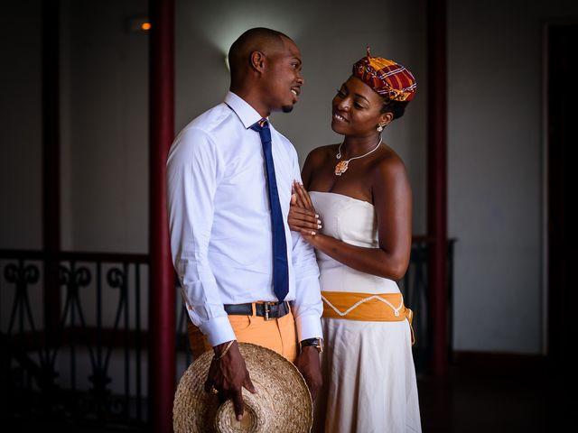 Le mariage de Harry et Cécilia à Ducos (Martinique), Martinique 10