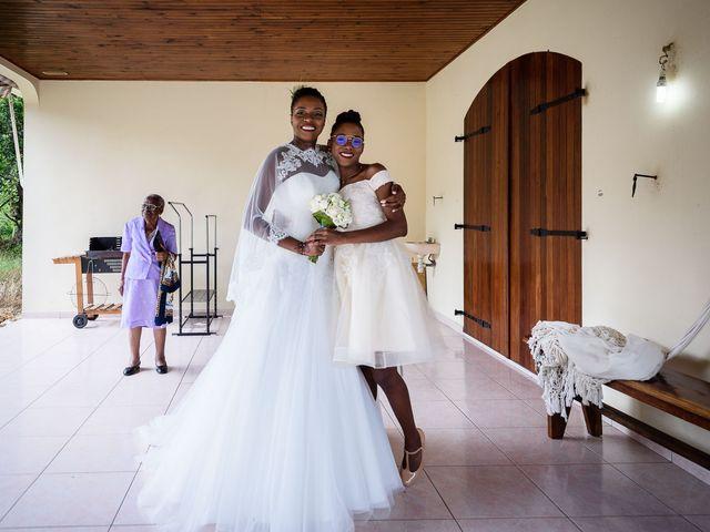 Le mariage de Harry et Cécilia à Ducos (Martinique), Martinique 21