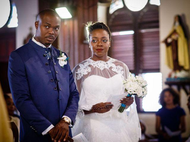 Le mariage de Harry et Cécilia à Ducos (Martinique), Martinique 26