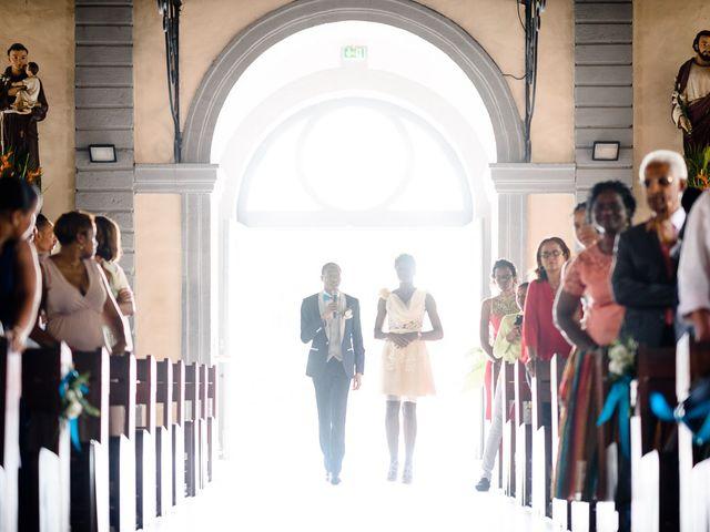 Le mariage de Harry et Cécilia à Ducos (Martinique), Martinique 28