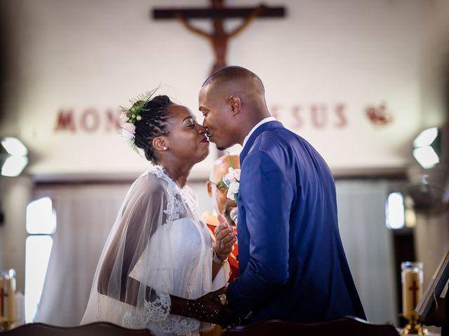 Le mariage de Harry et Cécilia à Ducos (Martinique), Martinique 30