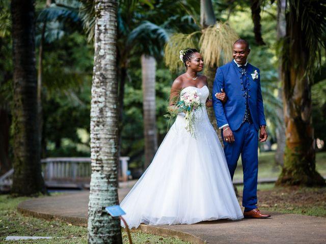 Le mariage de Harry et Cécilia à Ducos (Martinique), Martinique 34